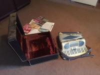 Beautiful vintage piano accordion circa 1962; full size