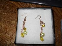 Selling a very nice pair of earrings. They have never