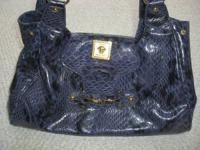 Versace collection bag/ handbag/ bag - crocodile