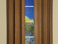 Two Curtain Panels with attachable blackout/insulate
