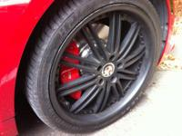 "Vertini Henessey 20"" staggered rims for BMW, Mercedes,"