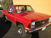 For Sale by OWNER:  Very Clean!! 1984 Chevy K10 4x4