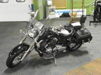 CLEAN 2008 YAMAHA V-STAR 650 SILVERADO WITH ONLY 3381
