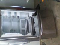 Stainless steel Large freezer 23in wide 70in tall works