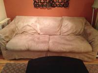 Really comfortable couch for sale! Looking to do away