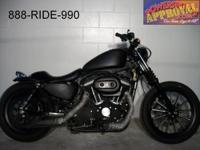 Very cool 2010 Harley Davidson 883 Sportster. This one