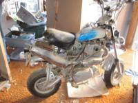 My son-in-law utilized a Honda 500 cc motor (he claimed