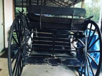 stunning cart for a full horse for sale, used and