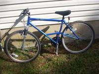 26 inch multi gear Bicycle in very good shape. Cost