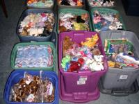 Selling one of the largest Beanie Babies Collections in