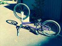Because I am moving, I have a bmx bike that I need to