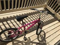 VERY NEW Cute Pink Girl's Bicycle This is a super worth