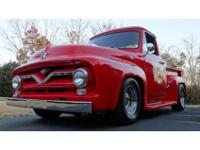 VERY NICE 1955 FORD PICKUP -RUNS PERFECTVIN :