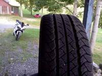 I have a set of 245/50R20 Goodyear wrangler HP tires.