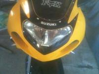 Very nice 2001 Suzuki GSXR-600 15,600 miles on bike,