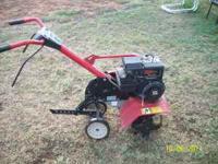Tru-Value 5 hp tiller. Works great. Plant a garden save
