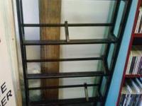 Very nice 5 shelf CD rack. Each shelf has a divider and