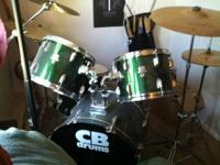 I have a very clean 5 piece matching CB sp series drum