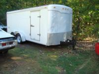 i have a 7x16 enclosed trailer for sale, like new