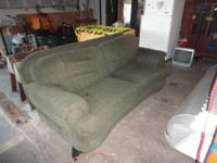 Very comfortable, clean, well built couch No smells,