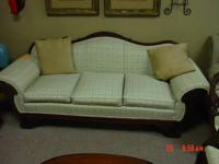 this is a super nice sofa from the 1950's. can be seen