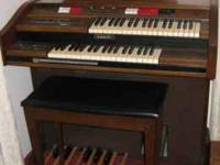 Grandma's organ has everything, but Grandma to play it!