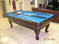 POOL TABLES IN BOX NEVER USED OR SET UP PRIOR TO !!!!