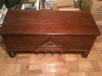 VINTAGE CEDAR CHEST - VERY NICE! ALL CEDAR INSIDE. NICE