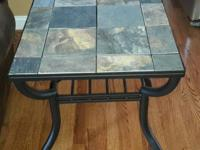 We have for sale a set of slate top end and side