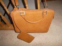 Bought this brand new Franklin Covey briefcase for a