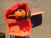 "Excellent - 18"" Gas, Chainsaw, Husqvarna 154SE - Starts"