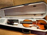 Very Nice John Juzek Full-size Viola Viola labeled John