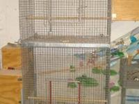 I have a very nice large bird cage for sale. it would