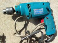 "Excellent - {{3/8"" Makita Drill, Used Little}} - Looks"