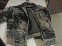 Members Property Leather Jacket all 100% leather in