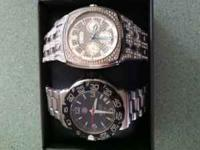 I have two very nice mens watches. One is a Tag Heuer