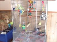 I have a very nice parrot cage for sale. It's not for