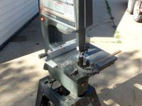 "Excellent - Sears, 12"" Band Saw, With Stand, New Blade,"