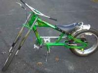 This is a shwin sting ray chopper. Very well taken car