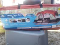 Northwest Territory Family Tent New, never used Sleeps
