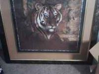 This is a 3ft by 3ft frame very pretty and in good