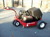YOU ARE BUYING 1 VERY NICE TORO GREENS LAWN AERATOR W/