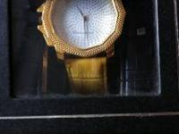 I have a very nice 14k gold plated King Master Watch
