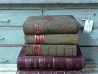 "Very Old Large General Ledger Books 13"" - 16"" $75 to"