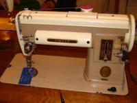 I LEARNED TO SEW ON THIS MACHINE 32 YEARS AGO AND IT