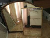 Antique mirrors $20 big, plus one smaller rectangular