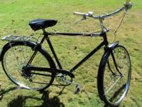 Made in England in 1968, the Robin Hood bicycle is