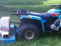 Very Rare 350 Yamaha Terrapro PTO 4-wheeler with finish