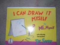 "Very Rare Dr. Seuss "" I CAN DRAW IT MYSEF"" by ME"
