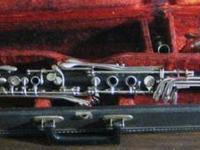 offered for sale, a very special antique clarinet from